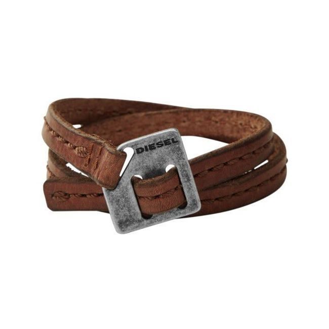 Bracelet pour homme en cuir diesel
