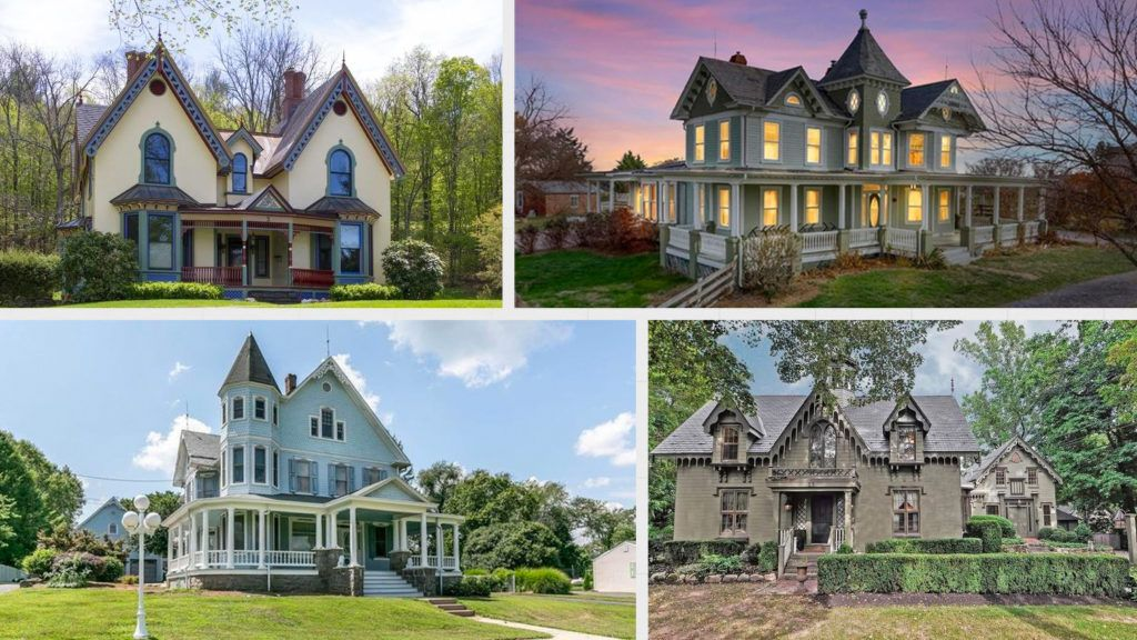 Live Like Hansel And Gretel 12 Gingerbread Homes You Can Buy For Real Gingerbread Houses For Sale Historic Homes Estate Homes
