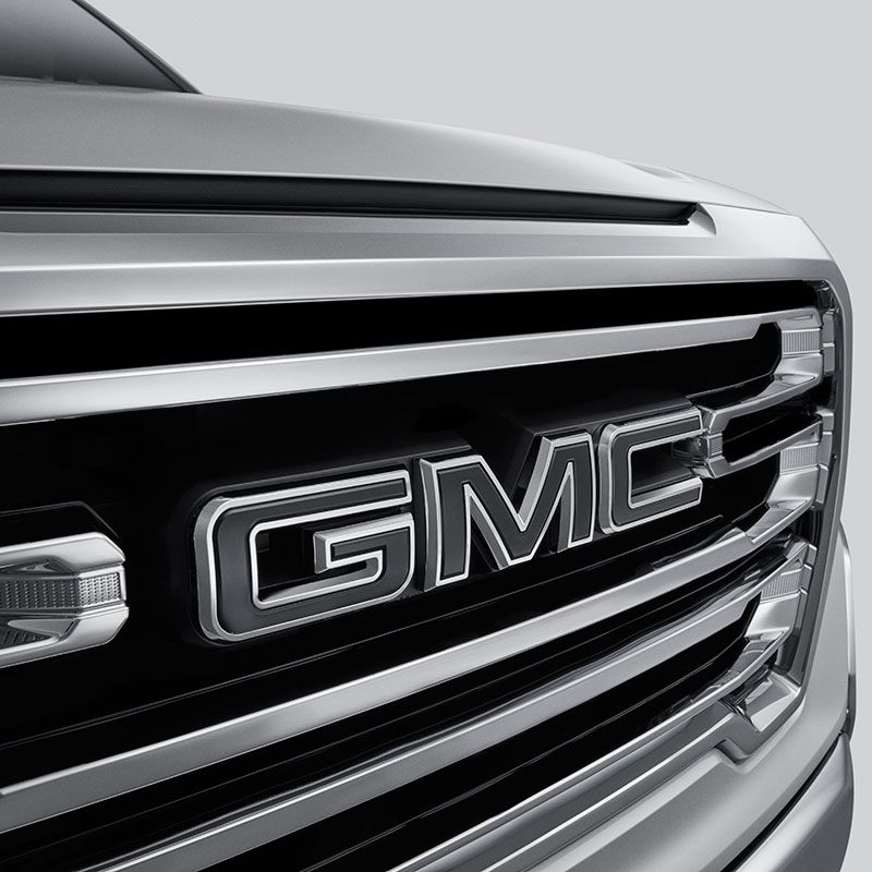 Accent Your Next Generation Sierra 1500 With These Black Gmc Emblems For The Front Grille And Multiprot Gmc Sierra 1500 Accessories Gmc Accessories Sierra 1500