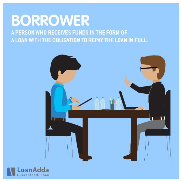 Borrower Is Person Who Receives Funds In The Form Of A Loan With The Obligation To Repay The Loan In Full Business Loans The Borrowers Guaranteed Loan