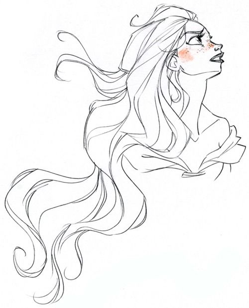 David Gilson TANGLED concept drawing. I die. SO. BEAUTIFUL.  check him out here: http://davidgilson.blogspot.com/