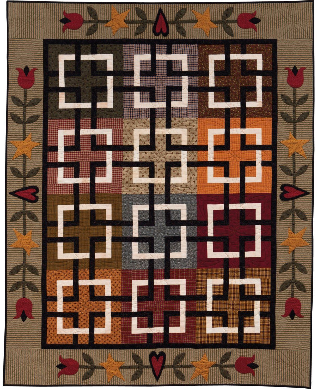 At Home with Country Quilts: 13 Patchwork Patterns (That Patchwork ... : country quilts patterns - Adamdwight.com