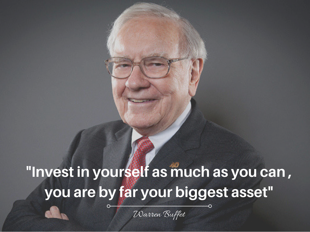 Crave for financial success – Start by investing in yourself! #finance #financial success #success #warren buffett #asset… | Financial success, Investing, Financial