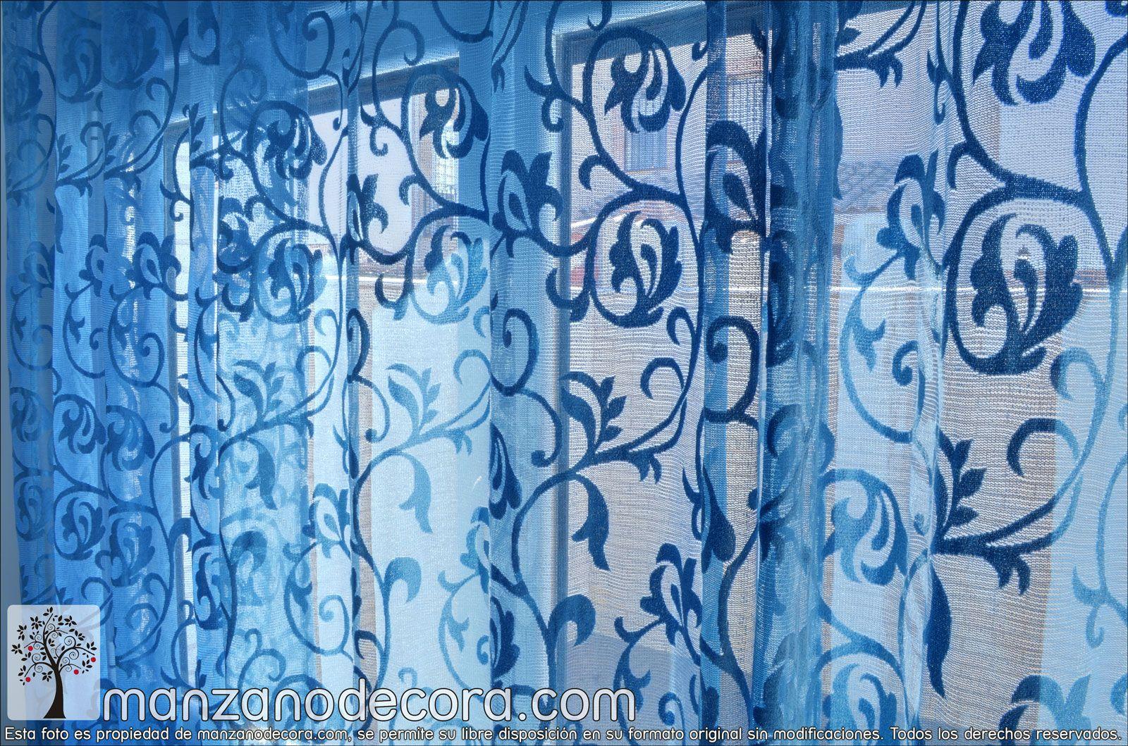 Detalle Cortina de Ollaos http://www.manzanodecora.com/cortinas.html