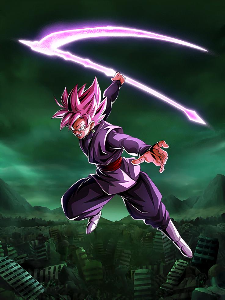 Goku Black Rose Card 5 Dokkan Battle By Maxiuchiha22 On Deviantart Anime Dragon Ball Super Dragon Ball Art Goku Dragon Ball Super Artwork