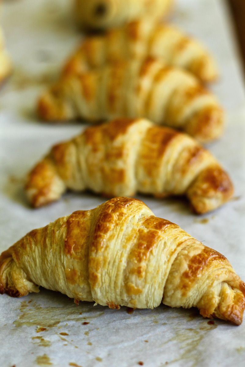 French Croissant Recipe Chocolate Croissants 40 Step By Step Photos