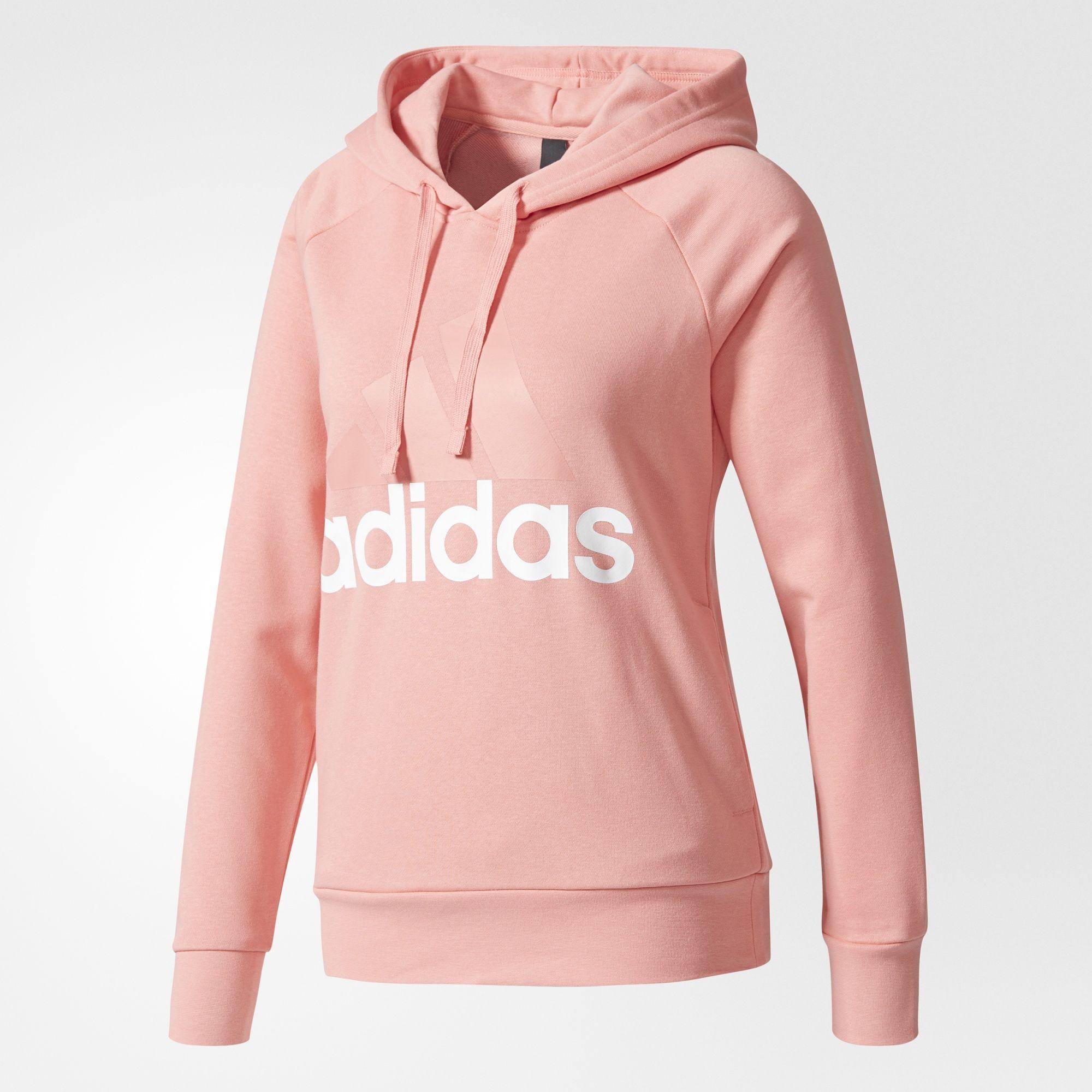 d6974109a9 adidas - Sweat-shirt à capuche Essentials Linear Pullover | Clothes ...