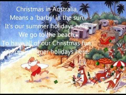 Christmas In Australia Song Australiadayonboard Http Www Youtube Com Watch V Rvzcet7xah4 List P Christmas In Australia Australian Christmas Aussie Christmas