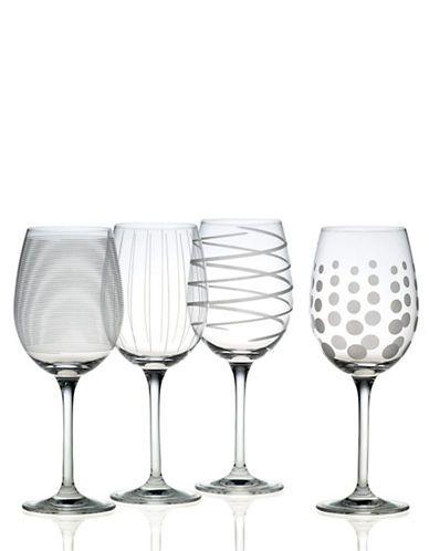 Mikasa Cheers White Wine Glass Set Of 4 Women S Clear Wine Glass Set White Wine Glasses Glass Set