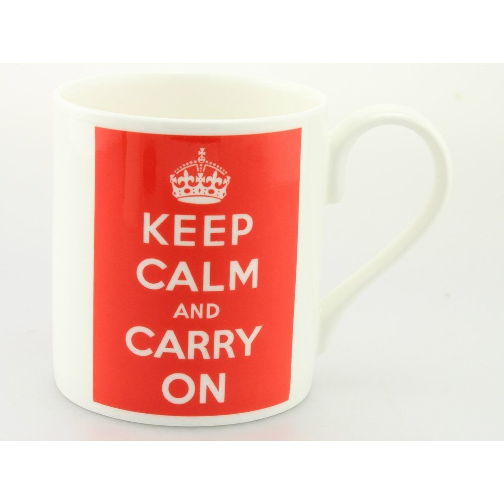 Mclaggan Smith GS192 Keep Calm & Carry Mug Perfect for all