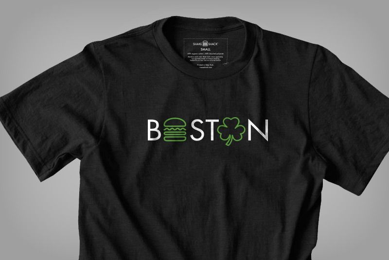 Boston Tee - Time for some new gear from the Shake Shack Shop. Gotta stock up on this swag!