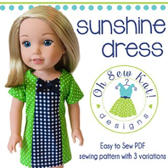 Wellie Wishers Sunshine Dress | YouCanMakeThis.com