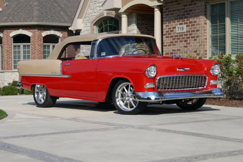 Used 1955 Chevrolet Bel Air Show Car Restomod Pro Touring Tri