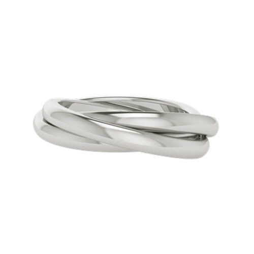 A Distinctive Design This Russian Wedding Ring Named Willow Is Made Of 9