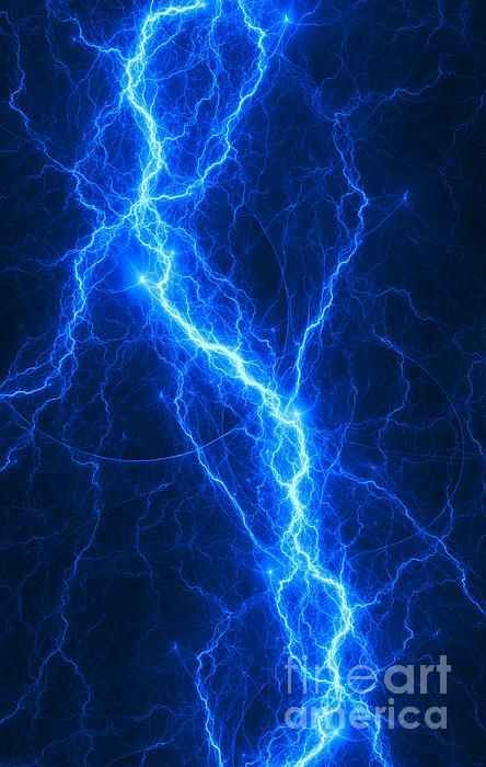 Blue Fantasy Lightning Abstract Abstractart Storm Lightning Render Fractal Apophysis Energy Blue Lightning Lightning Photography Blue Wallpaper Iphone