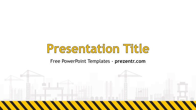Free construction powerpoint template prezentr ppt templates free construction powerpoint template prezentr ppt templates toneelgroepblik Gallery