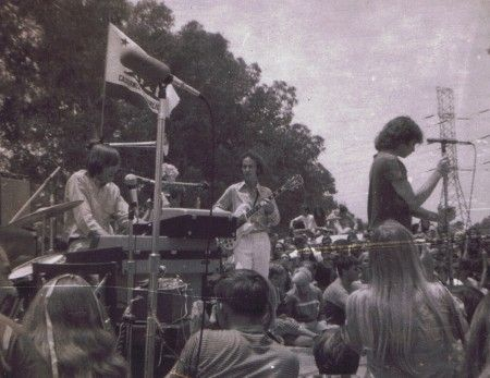 The Doors at their own first large gig the Fantasy Faire and Magic Music Festival in July 1967 at Devonshire Meadows(aka Devonshire Downs) fairgrounds ... & Lto R: Ray Manzarek Robby Krieger Jim Morrison). The Doors at ...