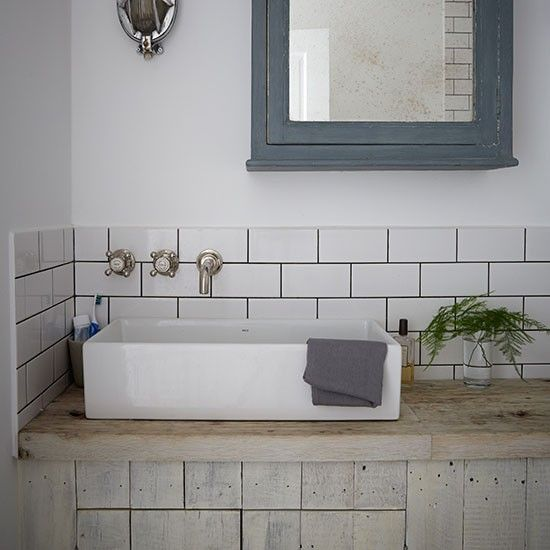 Industrial Style Bathroom With Metro Tiles Part 54