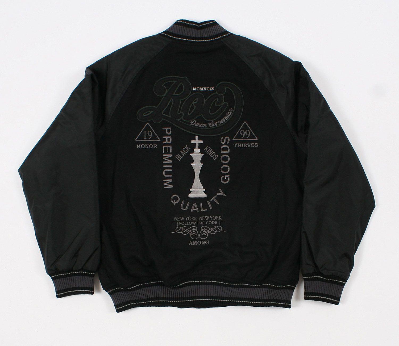 Black Jalit Daftar Harga Terbaik Terkini Dan Terlengkap Indonesia Ubercaren 0016 Rocawear Mens Varsity Jacket Jackets Men Clothes Shopping Gifts