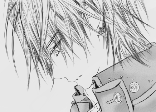 dessin manga vampire knight