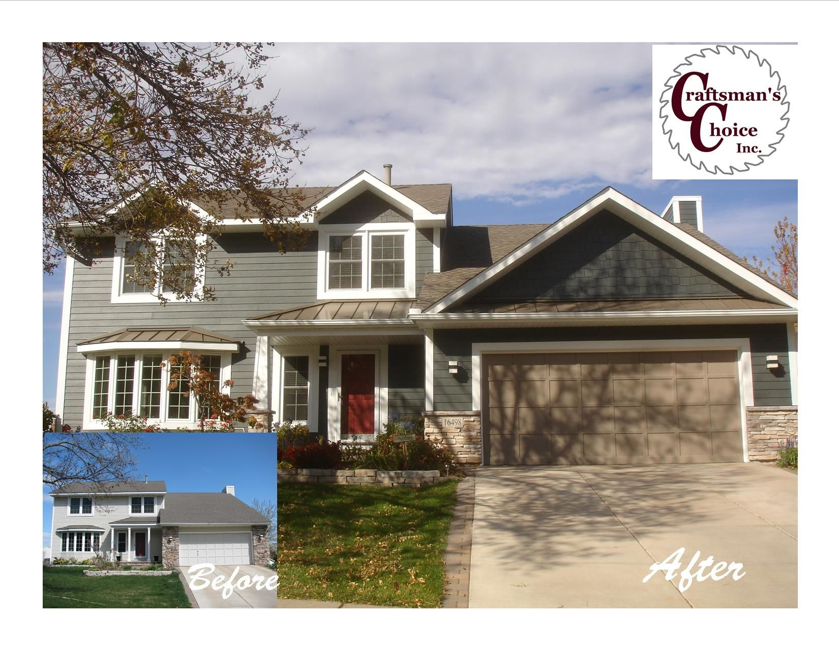 James Hardie Siding In Iron Gray Eden Prairie Mn Craftsman S Choice Inc Www Craftsmanschoice Exterior House Colors House Exterior House Styles