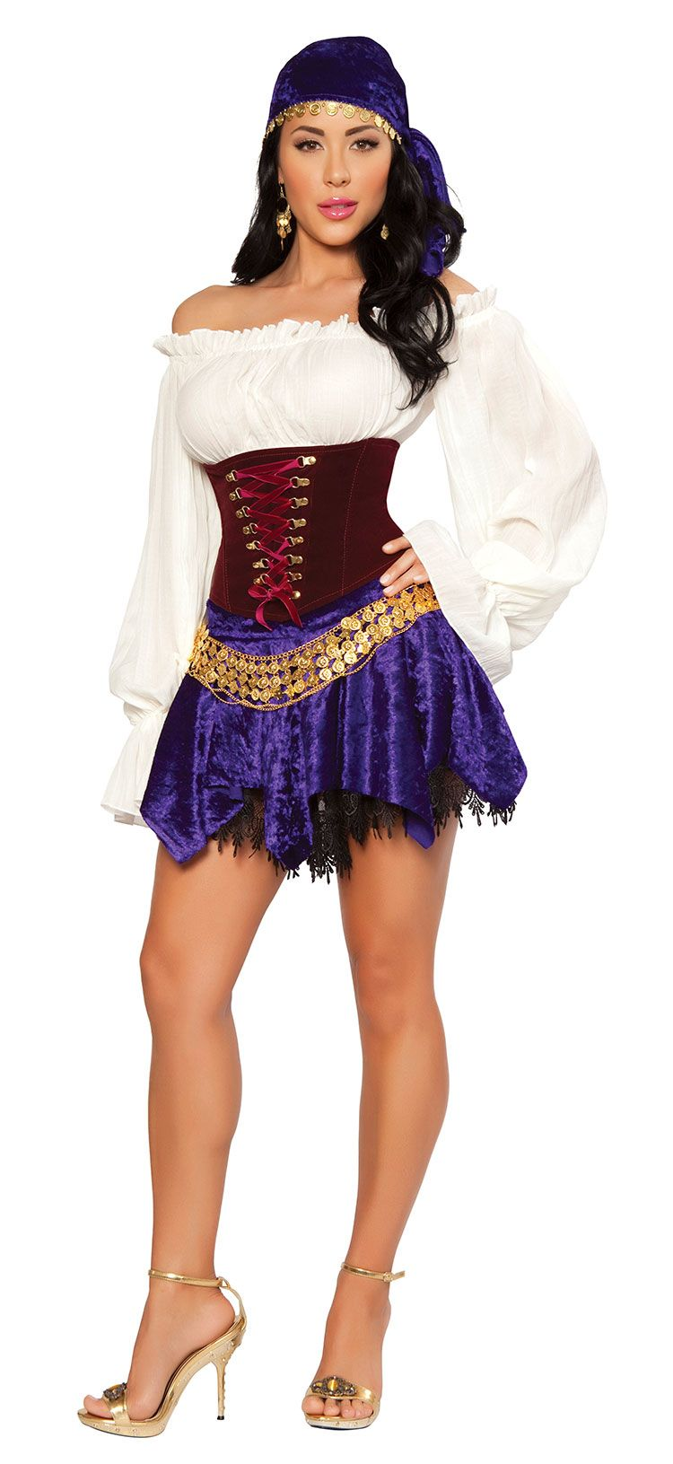 Adult Costumes For Women  Sexy Gypsy Costume - Sexy -6773