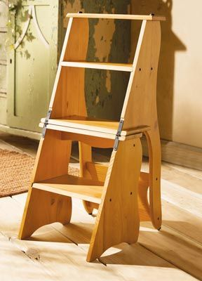 Foldable Chair Step Stool Ideias De Decora 231 227 O Projetos