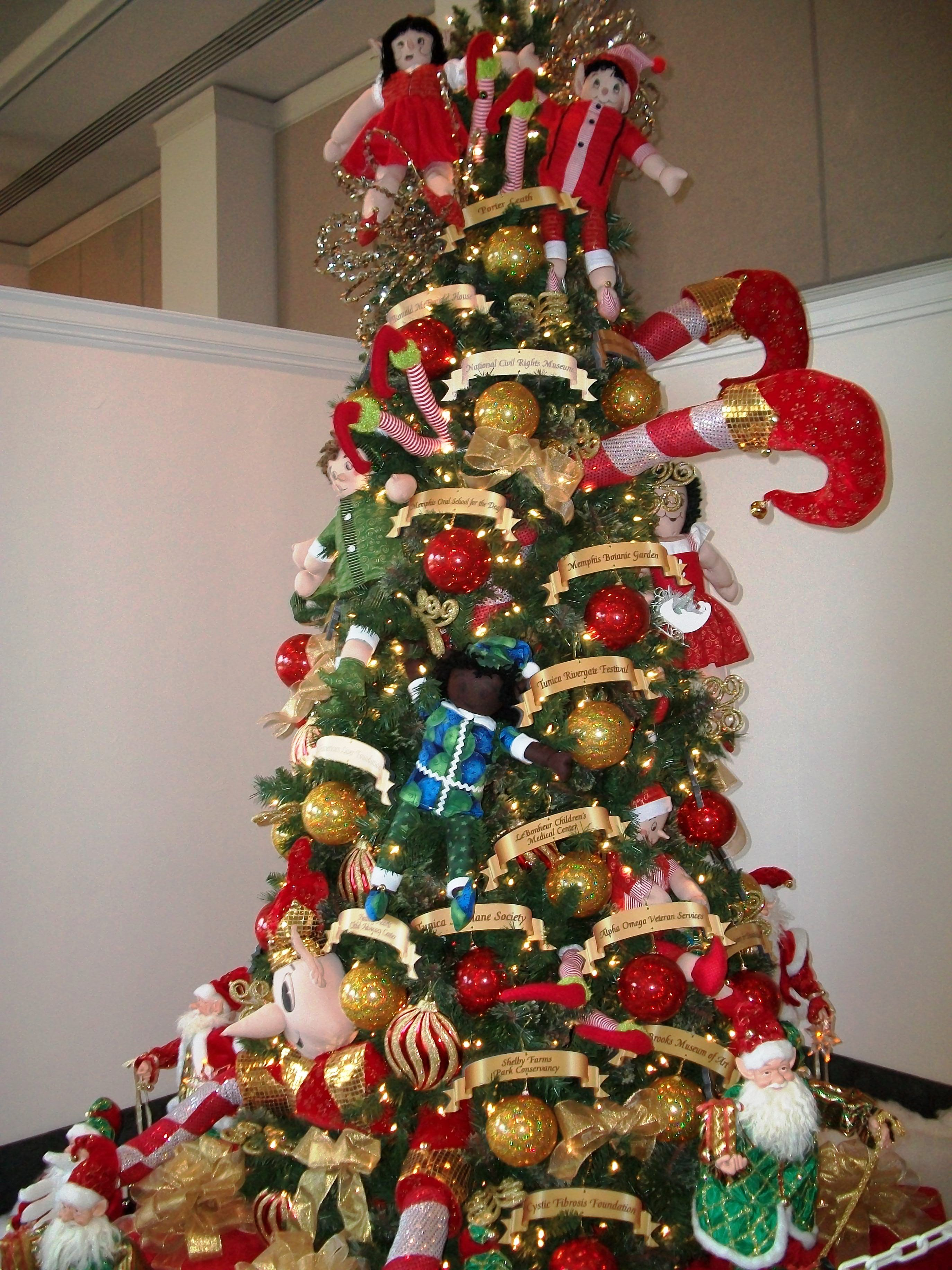 elf christmas tree enchanted forest - Enchanted Forest Christmas Trees
