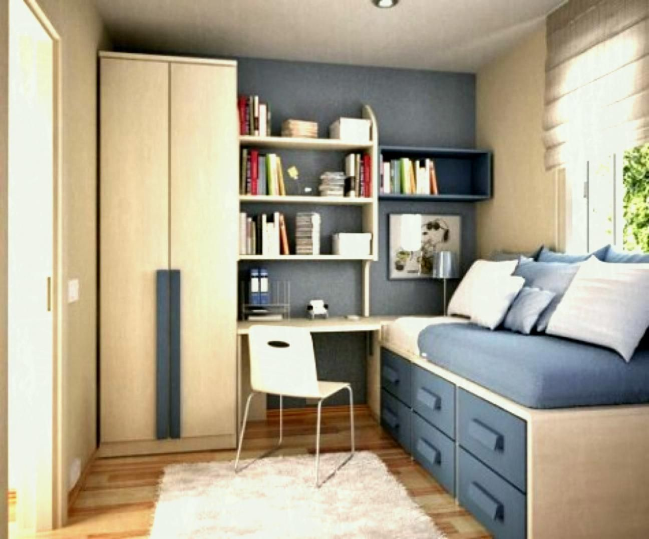 Bedroom Compact Bedroom Ideas For Teenage Girls With Medium Small Room Design Modern Bedroom Design Bedroom Interior