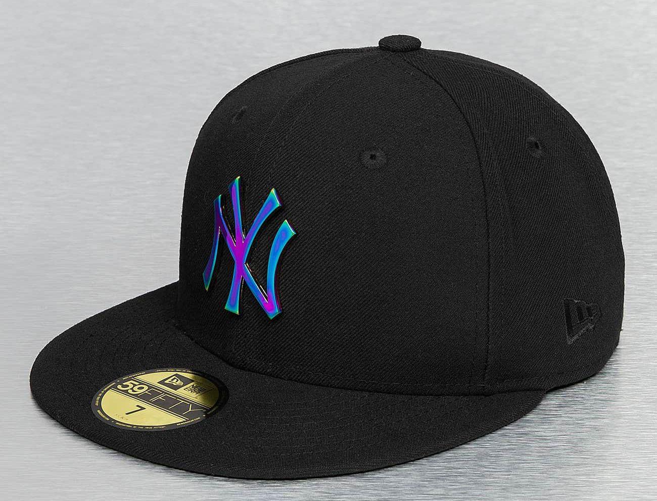 New York Yankees Rainbow Badge 59fifty Fitted Baseball Cap By New Era X Mlb Fitted Baseball Caps Baseball Cap New Era