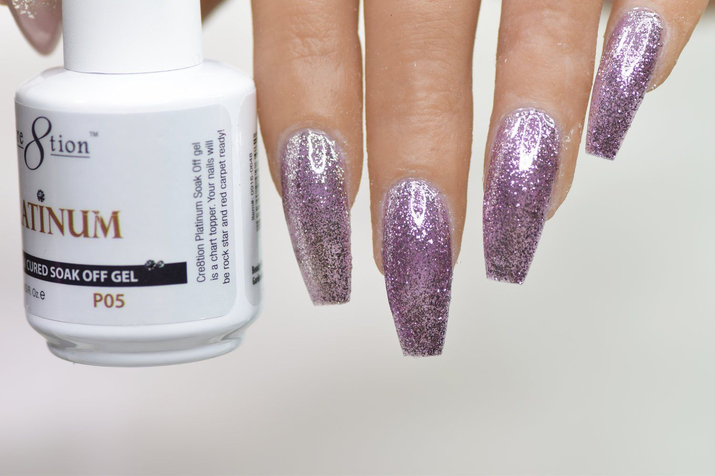 Cre8tion Platinum Collection P# 05  #nails #perfectnails #freaknails #notpolish #justnails #nailpolish #opi #nailjunkie #thenailstory #nailitmag