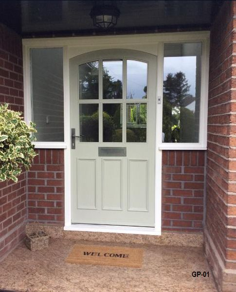 Image result for contemporary front door with side panel Doors