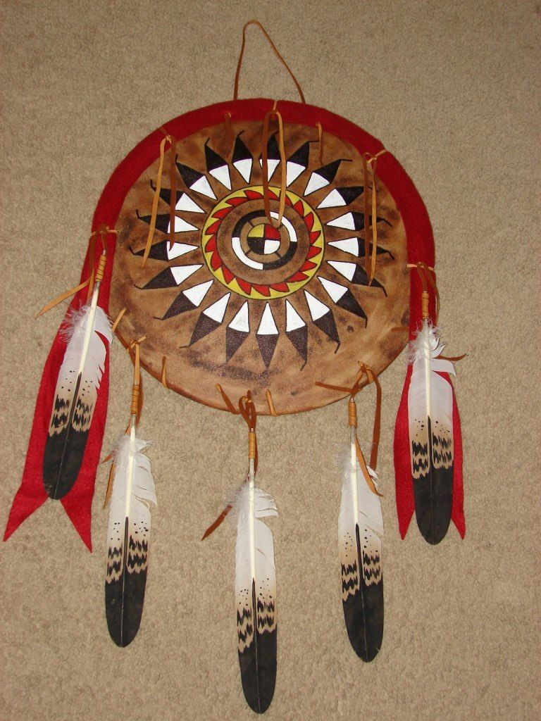American Indian Wall Hangings And Assorted Artifacts Native American Artwork Native American Wars Native American Artifacts
