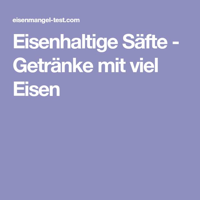 Atemberaubend Getränke Mit Viel Eisen Ideen - Hauptinnenideen ...