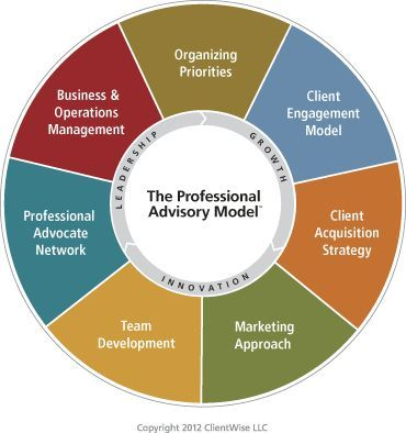 The Professional Advisory Model Via Clientwise Llc  Financial