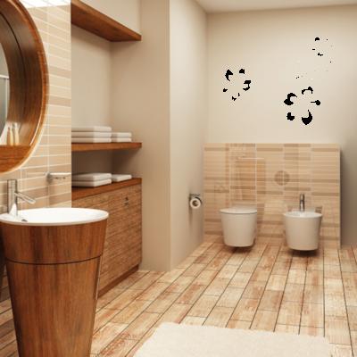 Muursticker Home Spa voor de badkamer » Muurstickers Muurteksten ...