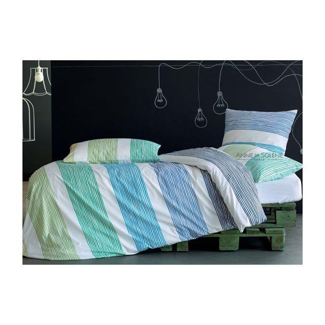 housse de couette fantasy blue inspiration par anne de solene prix avis notation livraison. Black Bedroom Furniture Sets. Home Design Ideas