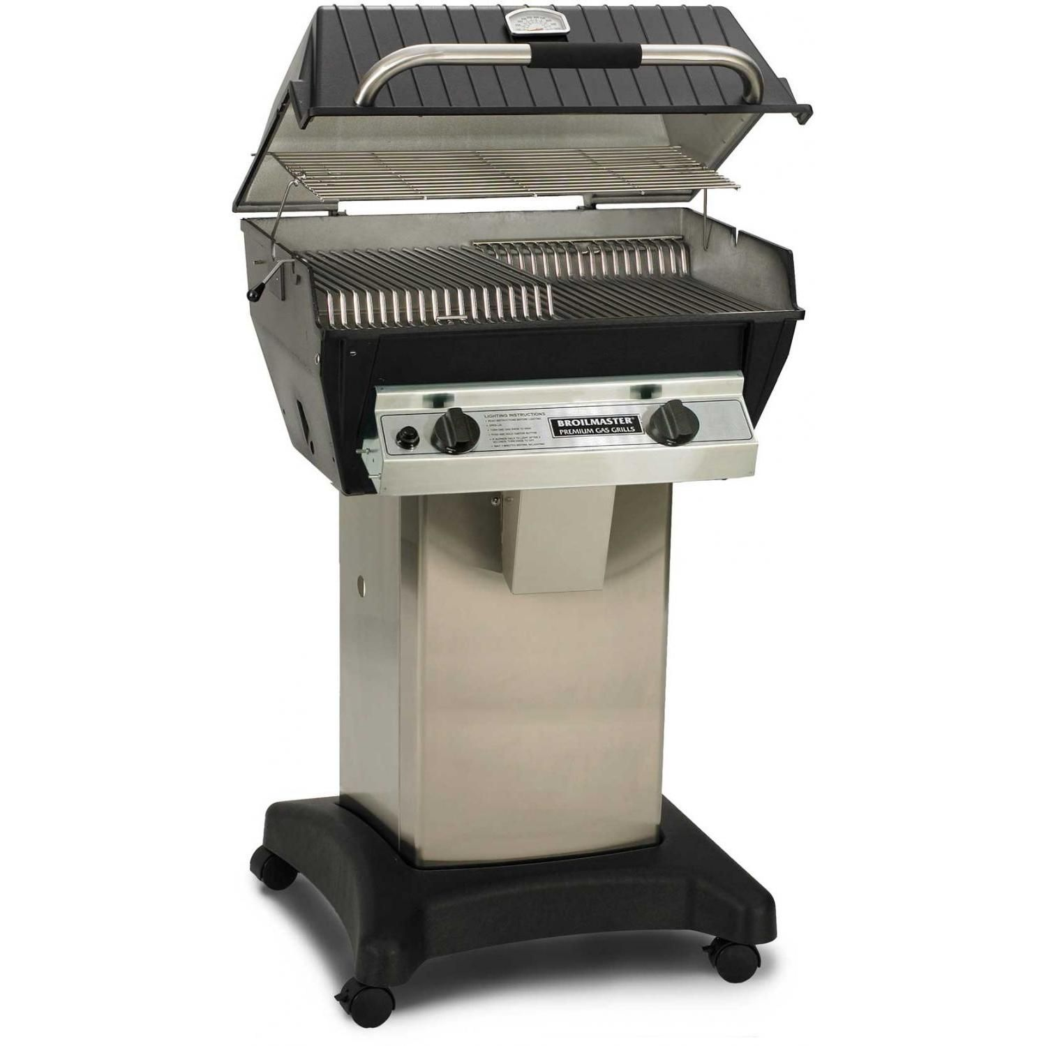 Broilmaster R3bn Infrared Combination Natural Gas Grill On Stainless Steel Cart Propane Gas Grill Grilling Grill Sale