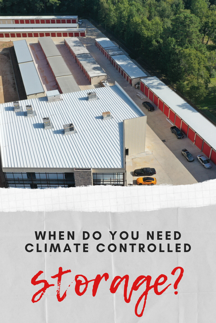 When Do You Need A Climate Controlled Storage Vs A Regular Self Storage Unit Storage Selfstorage Cl Climate Controlled Storage Units Self Storage Climates