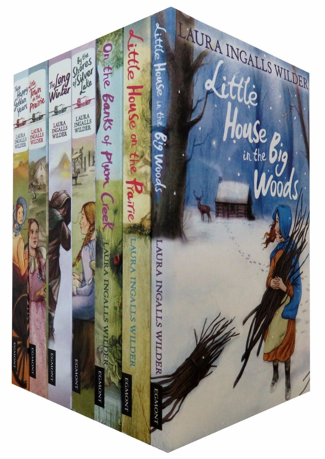 Details about Little House on the Prairie Series 7 Books Set ...