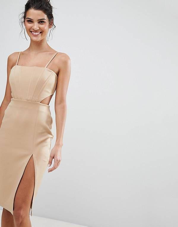 Midi bodycon dress pinterest