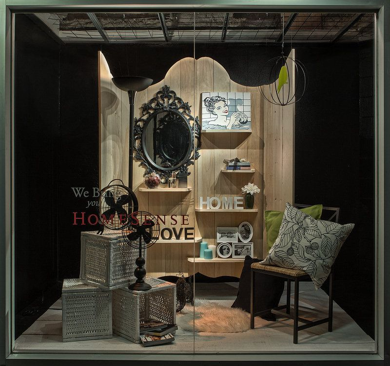Home Fashion Window Displays 2014 Seneca college Art school and