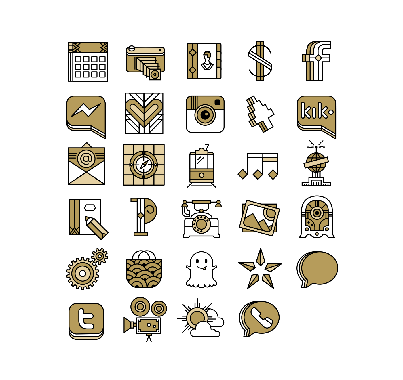 We Have Been Commissioned A Series Of Icon Sets To Style Your Mobile Desktop We Invited Ana Types Type As Our Guest Illustra Mobile Icon Icon Set Desktop Icons