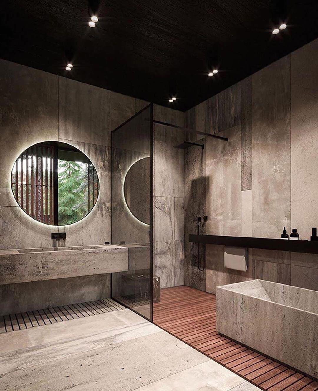 Best 25 Art And Home Decor Store Modern Rustic Homes Rustic Home Interiors Bathroom Interior Design