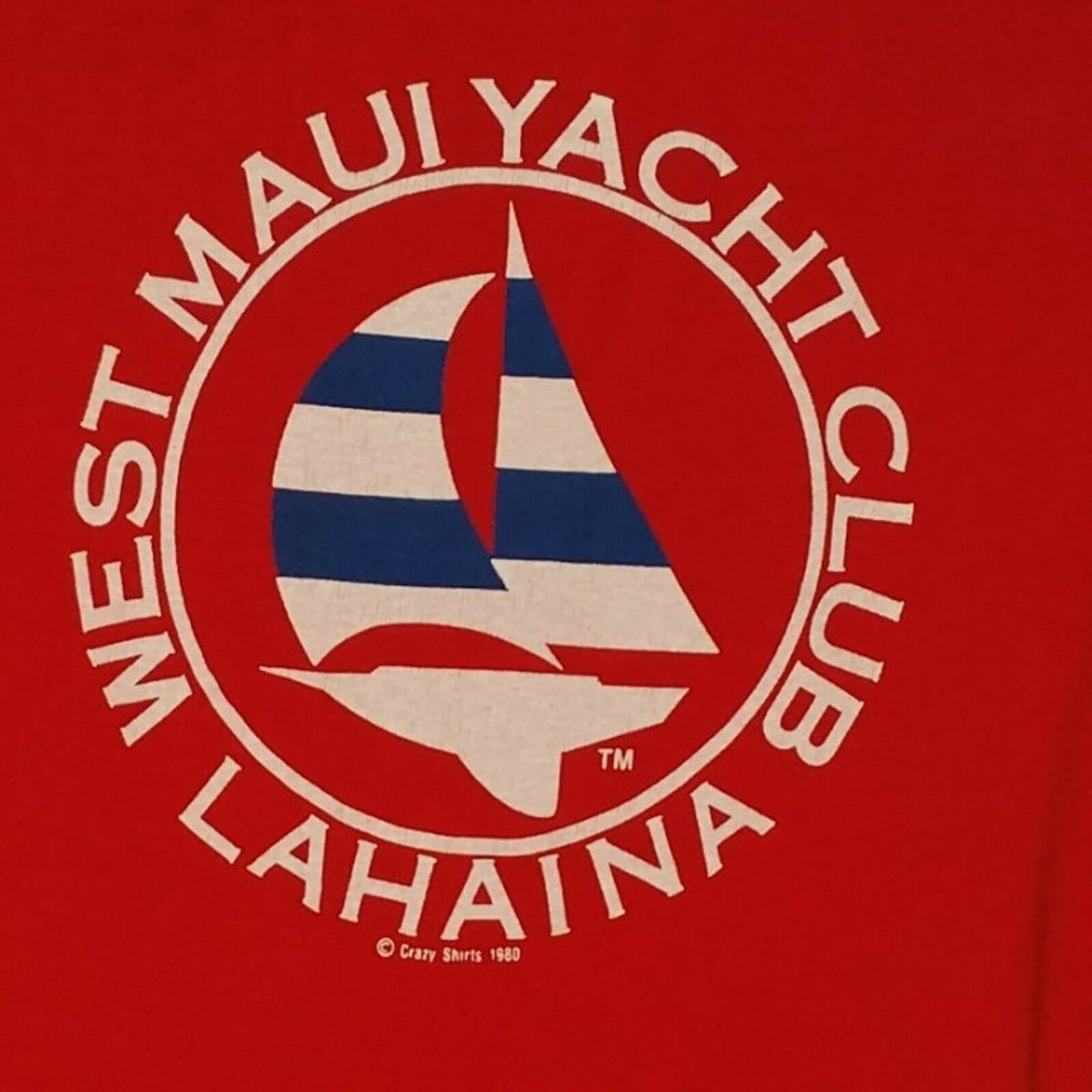 Bmw Of Maui: Crazy Shirts West Maui Yacht Club Large In 2020