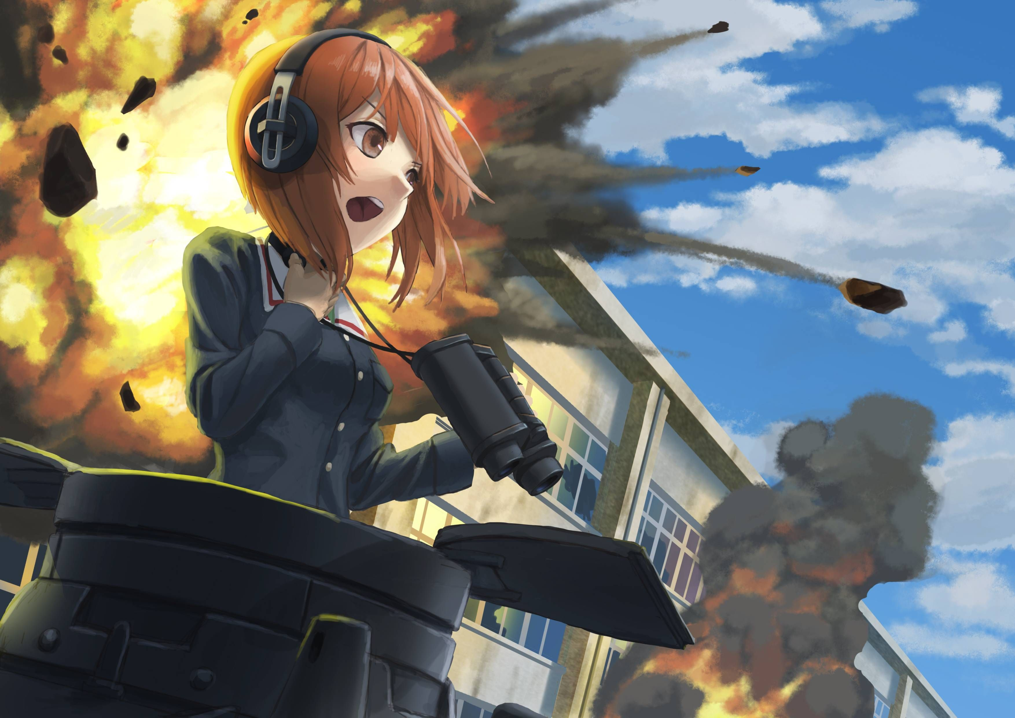 Nishizumi Miho Girls Und Panzer 3508x2480 Hq Backgrounds Hd Wallpapers Gallery Gallsource Com Poster Manga Ebay