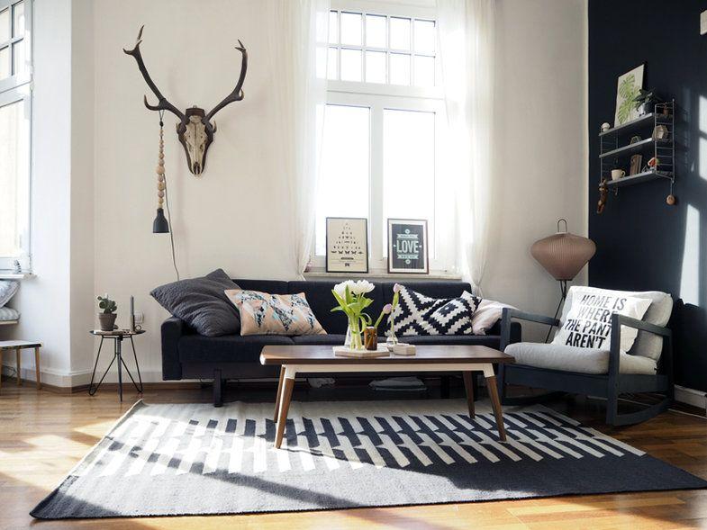 Die besten 25+ Wandfarbe schwarz Ideen auf Pinterest sweet 16 - schlafzimmer schwarz wei