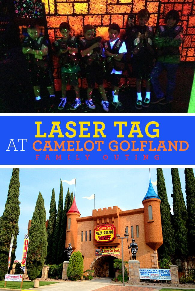 Family Laser Tag Outing At Camelot Golfland In Orange County For Only 30 Orangecounty