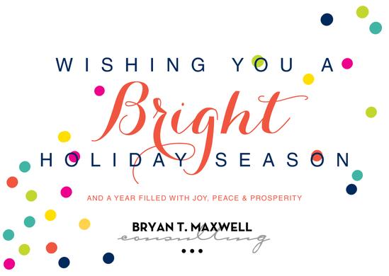 Wishing You a Bright Holiday Season