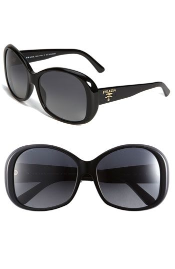 cdedc8cdd7e3 prada oval sunglasses...I need more than brown